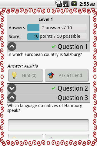 GeoQuiz - Screenshots - 2